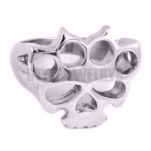 Jewelry - 5FDP Ring-Skull Stainless Ring size 7-15